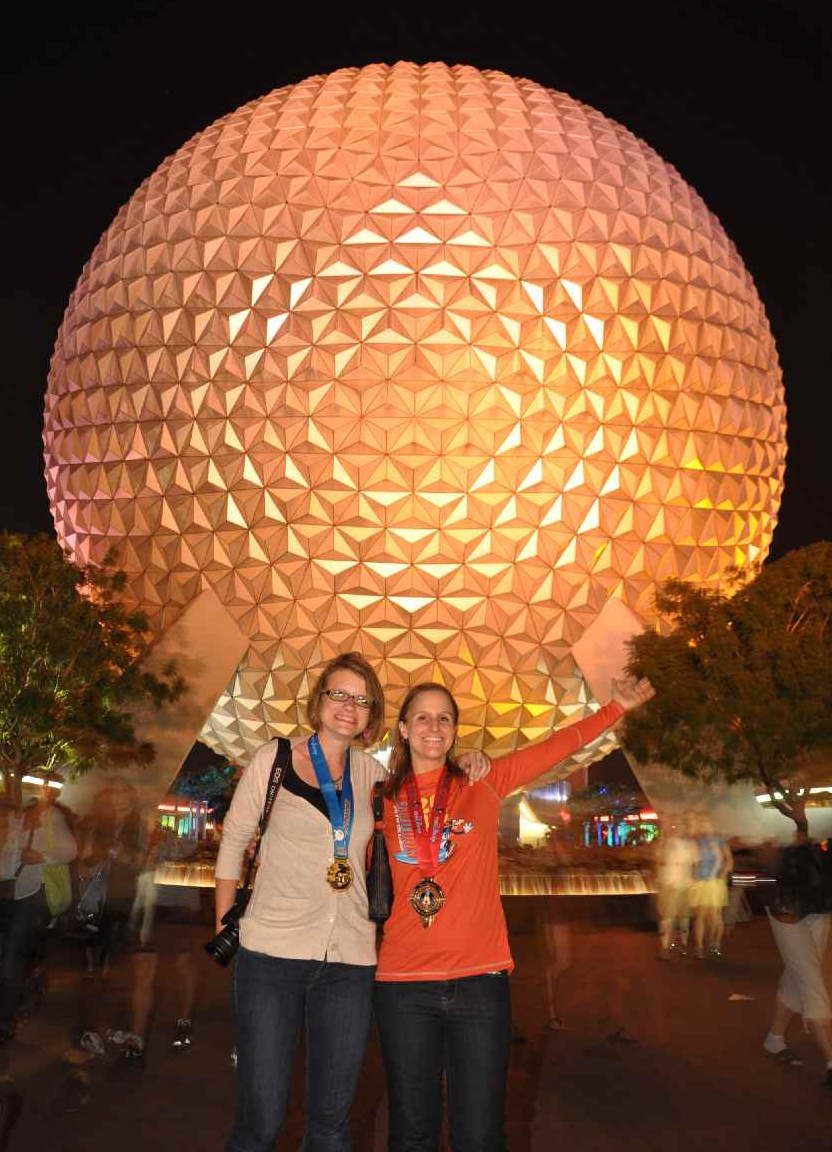 Besties at Epcot