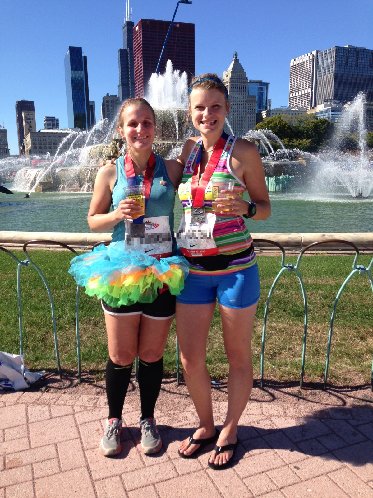 Chicago Marathon finishers