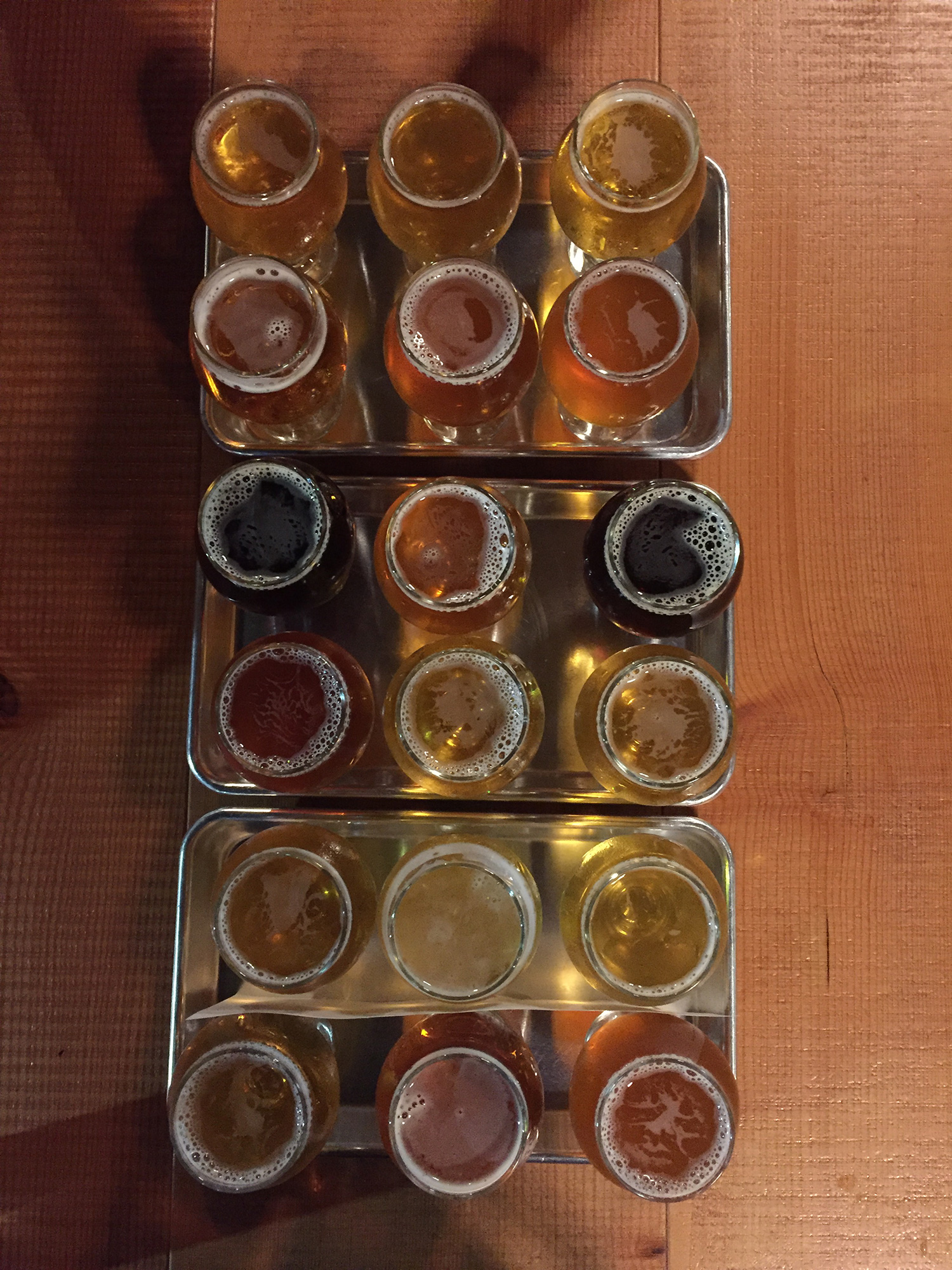 Flights on flights of beer!